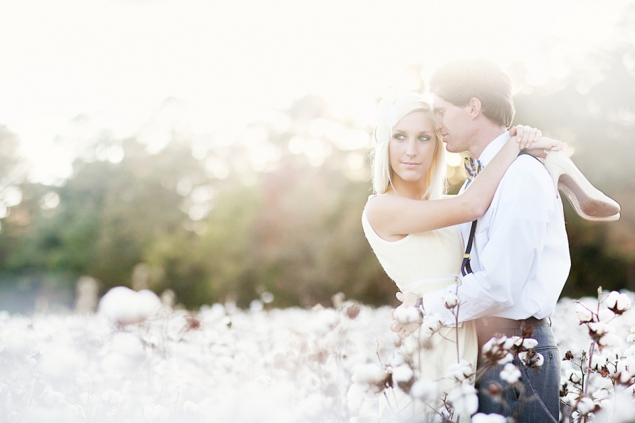 "Wedding photography vintage  Ali & Blakely – Vintage Engagement Photography ""Cotton Romance ..."