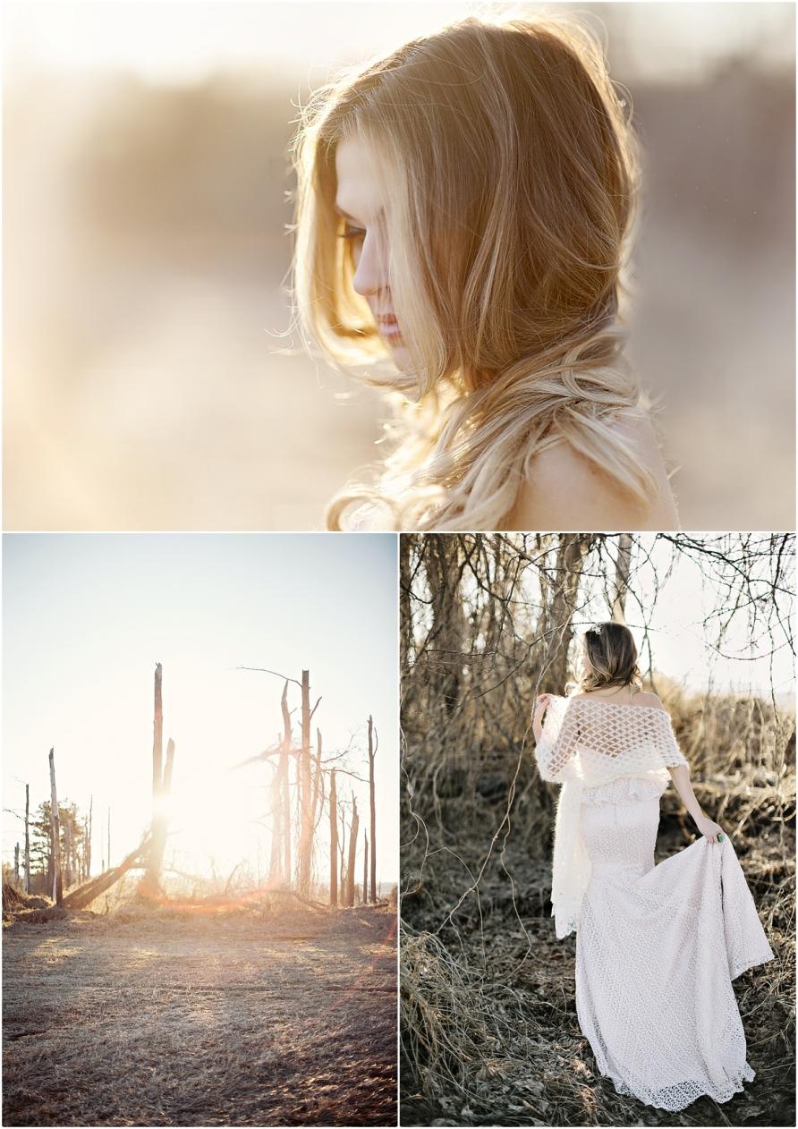 Whimsical Wedding Photography: Winter Whimsical Bridal Session